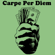 """Carpe per diem"" shirt"