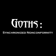 """Goths: Synchronized Nonconformity"" Shirt"